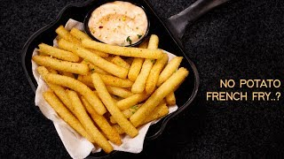 Suji French Fries Recipe - easy 10 min crunchy semolina fry - cookingshooking