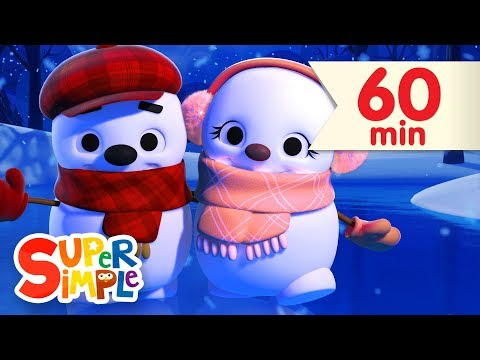 Little Snowflake + More | Nursery Rhymes & Kids Songs | Super Simple Songs