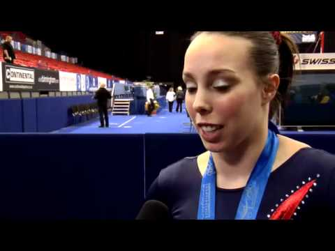 Beth Tweddle interview at 2012 European Team Finals