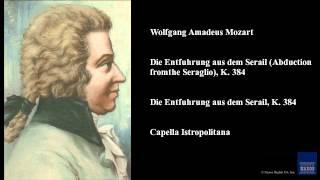 Wolfgang Amadeus Mozart Die Entfuhrung Aus Dem Serail Abduction From The Seraglio K 384