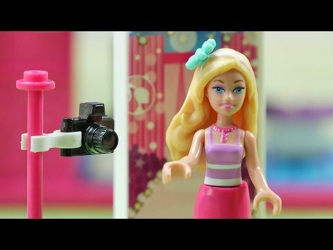 Barbie Fotograf | Mega Bloks Barbie & Lego Vaiana & Lego Frozen | Bajki dla dzieci