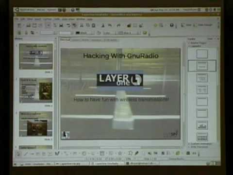 David Bryan - Hacking with GNU Radio  - LayerOne 2009