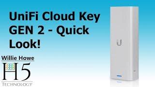 Ubiquiti Cloud Key Gen 2 - Quick Overview