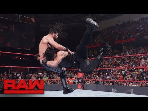 Roman Reigns vs. Seth Rollins: Raw, May 29, 2017 thumbnail
