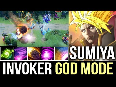 Insane SumiYa Invoker God Most Epic Play Best Combo Gameplay Dota 2