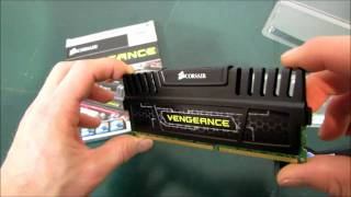 Corsair Vengeance DDR3 Memory Unboxing & First Look Linus Tech Tips