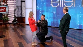 Ellen Helps a Proposal: Behind the Scenes