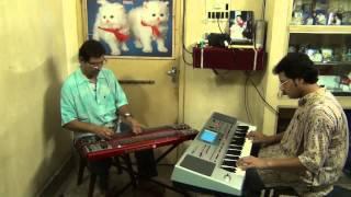 Asha Chilo Bhalo Basa Chilo Electricguitar By Pranab Das & Accompany By Pramit Das Synthesizer