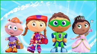 Learn to Read With Superheroes   Fun Education Game For Kids   Super Why