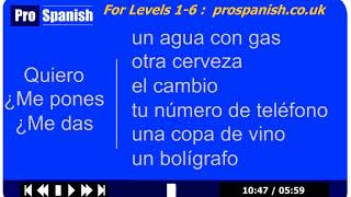 "How to say ""CAN I HAVE"" in Spanish - ProSpanish Lessons"