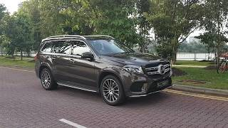 Mercedes-Benz GLS 400 - Singapore 2018 - Walkthrough