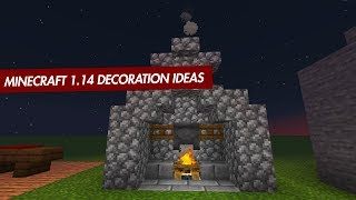 Minecraft 1.14 Decoration Ideas