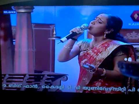 Athira Mohan Vengara On Kairali Tv  Mambazham 6  video