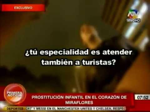 Prostitucion Infantil en Lima Perú
