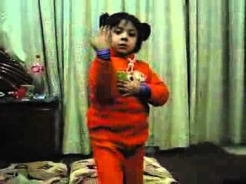 Cute Baby Cute Dance (doob Ja Meray Piyar May) video