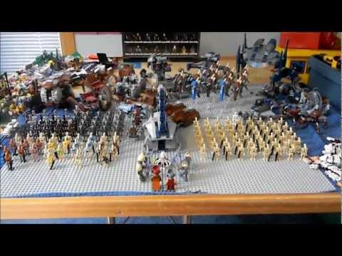 My Lego Star Wars Droid Army 2012