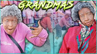 Being GRANDPARENTS For 24hrs *HILARIOUS REACTIONS* ( Social Experiment)