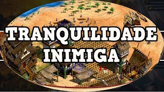 Age of Empires 2 HD Inimigo Tranquilo AoE2HD Gameplay PT BR