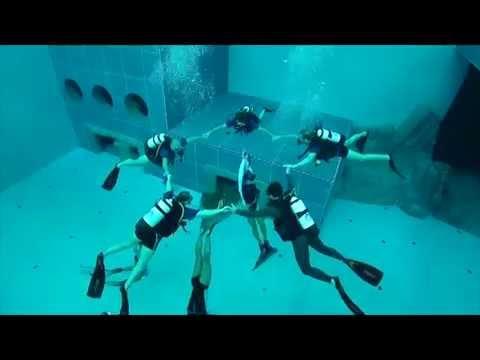 Y-40世界上最深不見底的游泳池,你敢挑戰嗎?