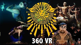 Experience our Shows in Full 360 VIRTUAL REALITY | KA, KURIOS, LUZIA, & 'O' 360 VR Video