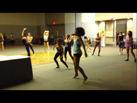 Simrin Player and friends at Nuvo Dance Convention in  Phoenix - May 2013