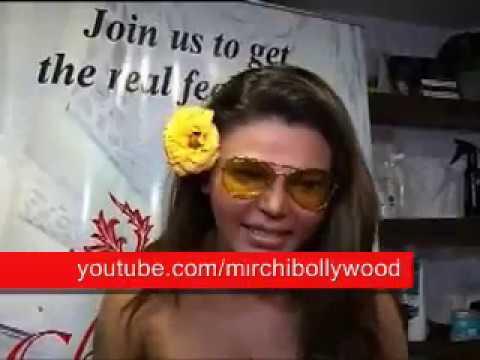 Rakhi Sawant Having Full Body Massage ......very Naughty Video Must Watch video