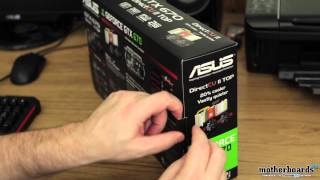 ASUS GeForce GTX 670 DirectCU II Top Edition 2GB Video Card Unboxing