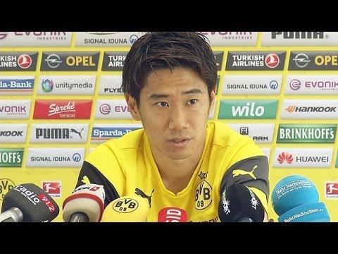 Pressekonferenz: Shinji Kagawa im Interview | BVB total!