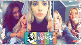ASHLEY BENSON August 2015 Snapchat Story | feat. Tyler Blackburn, Shay Mitchell, Sasha Pieterse