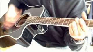 Quit Playing Games - Backstreet Boys (Guitar Cover - Guitar Tutorial)