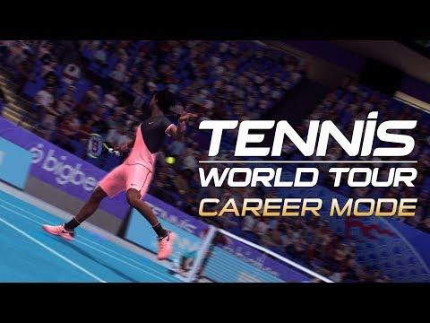 Tennis World Tour - Career Mode Trailer