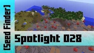 Spawn at Mushroom Island with Ocean Monument seed [sZPeddy's Minecraft Seed Finder] 028