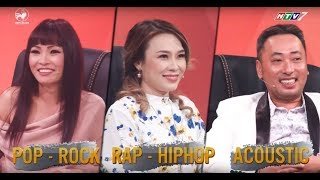 Mỹ Tâm và Phương Thanh thích mê khi nghe Lynk Lee đọc rap cover Họa Mi Tóc Nâu