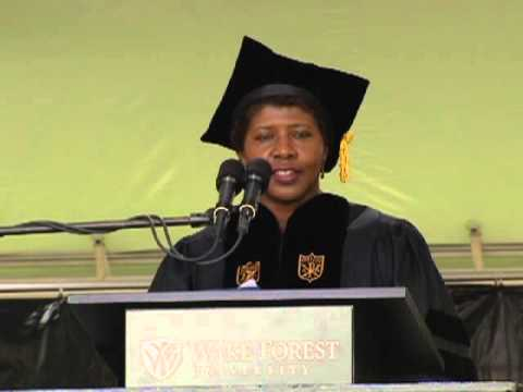 Gwen Ifill Gives Wake Forest University 2013 Commencement Address