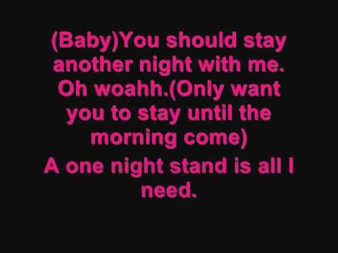 Keri Hilson - One Night Stand ft. Chris Brown (With Lyrics)