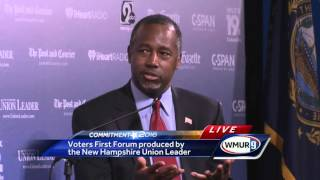 Voters First Forum: Ben Carson on healthcare, Planned Parenthood