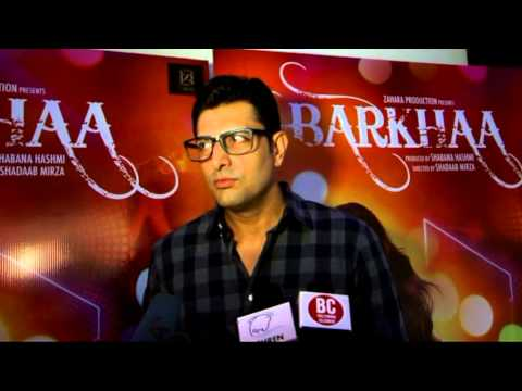 Priyanshu Chatterjee interview at Barkhaa theatrical trailer launch