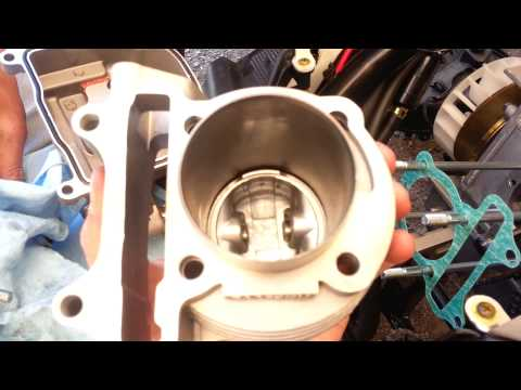 Gy6 ncy big bore kit modification for install of the performance cylinder