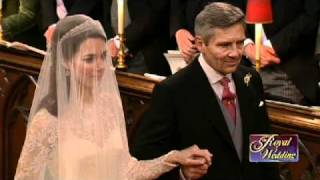 VIDEO:  Kate Middleton Walks Down the Aisle