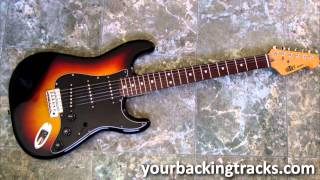 Minor Smooth Jazz Backing Track in Am / Free Guitar Jam Tracks TCDG