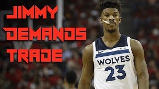 Jimmy Butler DEMANDS a TRADE - Raptors MUST Trade for him NOW