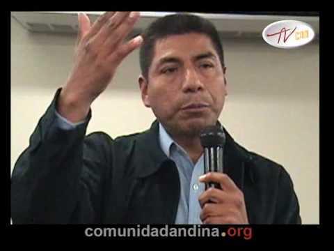 Fernando Huanacuni y la cosmovisión Aymara - parte 01