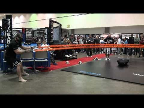 Elevation Training Mask Product demo by Inventor & UFC Fighter Sean Sherk  - MMA Fitness Training Image 1