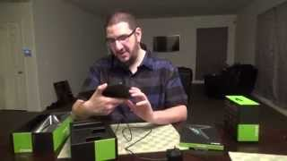 Nvidia Shield Tablet/Controller Unboxing w/ Towelliee