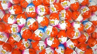 50 Surprise Eggs Kinder Joy Minnie Mouse Edition new surprise eggs Opening Finger Games | Star Wars|