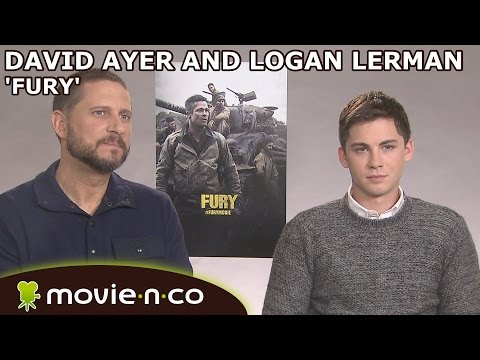 'Fury': Interview With Logan Lerman And David Ayer