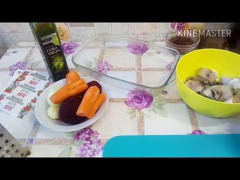 Тонкие блины.Рецепт.Рыба с овощами в духовке.Что приготовить?