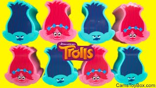 Series 6 Trolls Blind Bags Surprise Toys Opening Branch Poppy Heads Dreamworks 1 2 3 4 5
