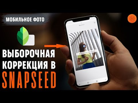Snapseed: как использовать выборочную коррекцию ▶️ Уроки мобильной фотографии