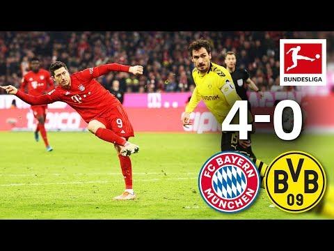 FC Bayern MГnchen vs. Borussia Dortmund I 4-0 I Der Klassiker - Highlights Worldwide Commentary